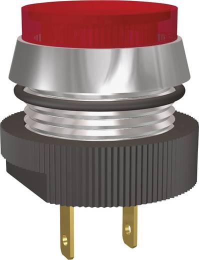 LED jelzőlámpa piros 12V