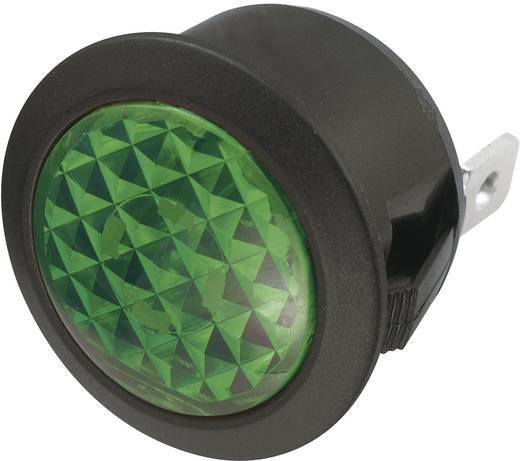 Jelzőlámpa 12 V/DC, zöld, SCI 28430c1005