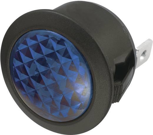 Jelzőlámpa 12 V/DC, kék, SCI 28430c1006