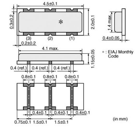 Rezonátor 6 MHz CSTCR, Murata