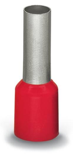 Érvéghüvely 10 mm² 16 mm Részlegesen szigetelt Piros WAGO 216-209 100 db