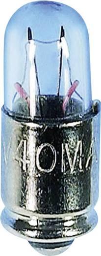 Szubminiatűr izzólámpa 24 V 1 W, foglalat: MG5.7s/9, átlátszó, Barthelme, tartalom: 1 db