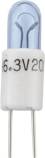 BIPIN minatűr izzó T13/4,6,3V,200MA
