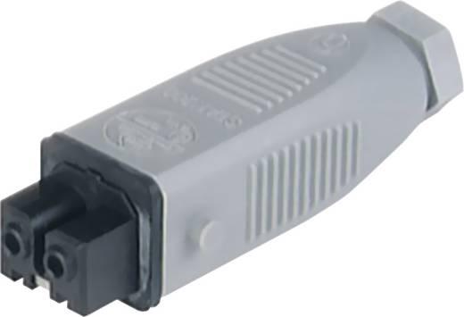 Vezetékre szerelhető műszercsatlakozó aljzat 2+PE pólusú 400V Hirschmann STAK 200