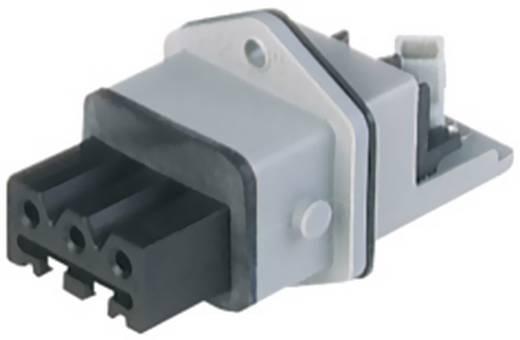 Beépíthető tápcsatlakozó 250V 3+PE pólusú Hirschmann STAKEI 3