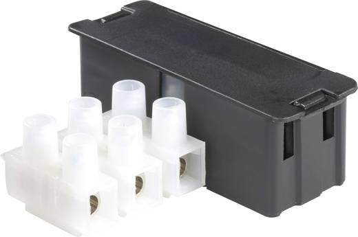 Védő ház sorkapocshoz (tip. 500), 3 pólus, fekete, 1 db, Adels-Contact 542163