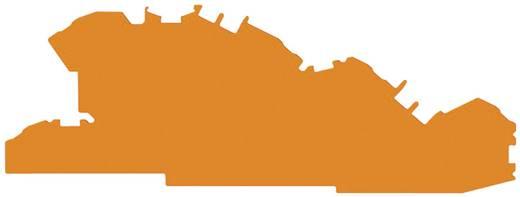 Záró- és köztes lemez, 0,8 MM, narancs