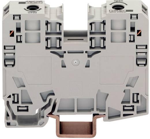 Átvezető sorkapocs, 2 vezetékes, szürke, 6-35 MM²