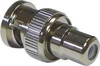 BNC adapter, BNC dugó - RCA aljzat, Tru Components (730556) TRU COMPONENTS