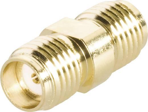 BKL Electronic SMA alj/alj HF adapter, aranyozott, 409073
