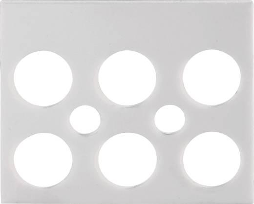 Jelölőcsík sorkapocshoz 3 pólus, fehér, 1 db, Adels-Contact 191403