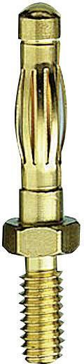 MultiContact lamellás szerelhető banándugó, csavaros, Ø 4 mm, SA403