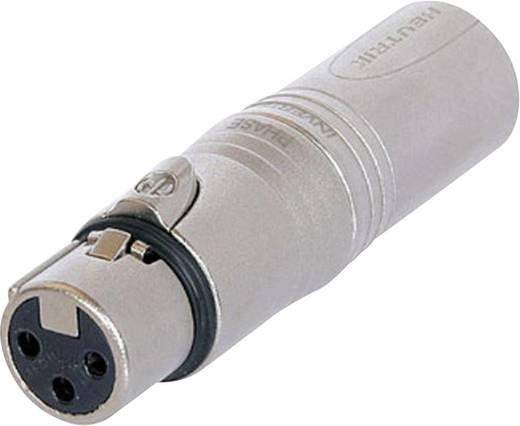 XLR adapter XLR alj - XLR dugó, Neutrik NA3FM, 1 db