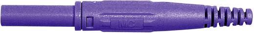 MultiContact axiális banándugó, forrasztós, XK-410, Ø 4 mm, 32 A, lila, 66.9155-26
