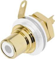 Beépíthető RCA csatlakozóaljzat, fehér Neutrik NYS 367-9 (NYS367-9) Rean AV