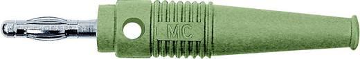 MultiContact lamellás banándugó, forrasztós, átmenő furattal, L-41Q, Ø 4 mm, 32 A, zöld, 64.9199-25