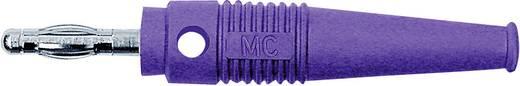 MultiContact lamellás banándugó, forrasztós, átmenő furattal, L-41Q, Ø 4 mm, 32 A, lila, 64.9199-26