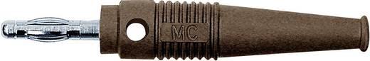 MultiContact lamellás banándugó, forrasztós, átmenő furattal, L-41Q, Ø 4 mm, 32 A, barna, 64.9199-27