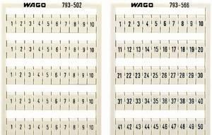 WMB feliratozó kártyák 793-3505 WAGO Tartalom: 1 db WAGO