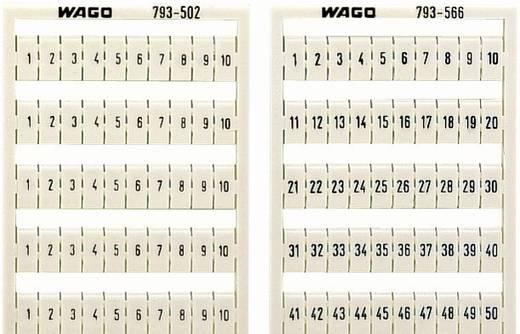WMB feliratozó kártyák 793-4502 WAGO Tartalom: 1 db