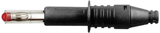 MultiContact axiális lamellás banándugó, csavaros, X-GL-438, Ø 4 mm, 32 A, fekete, 66.9584-21