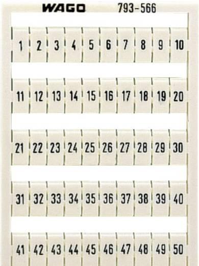 WMB feliratozó kártyák 793-5502 WAGO Tartalom: 1 db