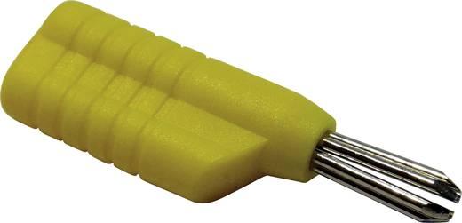 Schnepp forrasztós banándugó, egyenes, Ø 4 mm, sárga, N 4041 L