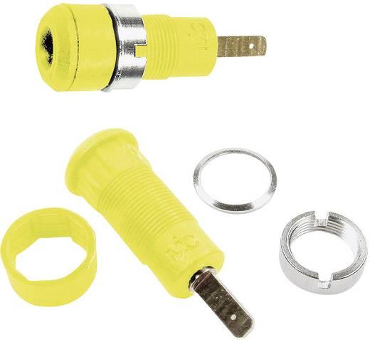 Beépíthető hüvely 2 mm,SLB2-F2,8 sárga