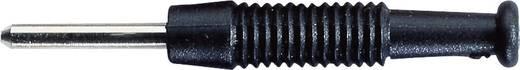 Banándugó 2mm/6A fekete