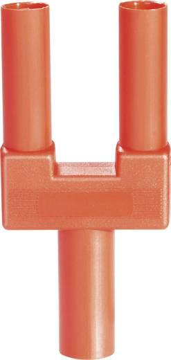Rövidzár dugó, 4 mm, piros