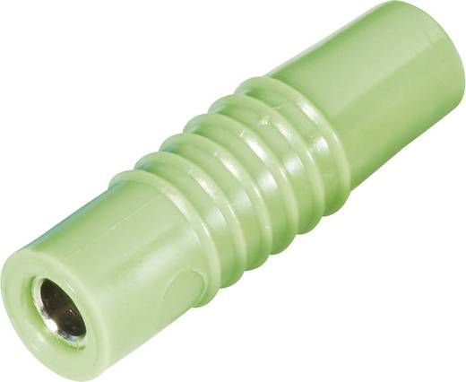 Schnepp forrasztós lengő banánhüvely, egyenes, Ø 4 mm, zöld, KP 4000 L
