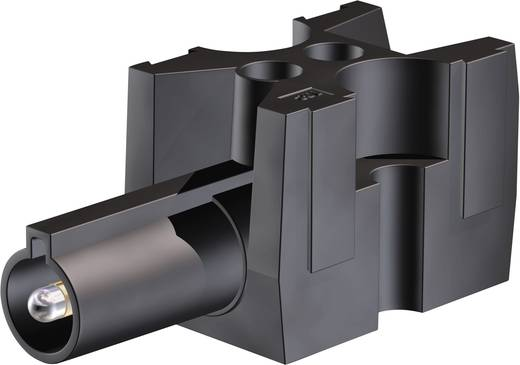 Összedugaszolható sorkapocs (dugó) 1 pólus, 2,5 mm² , fekete, 1 db, MultiContact 15.0186