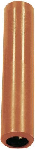MultiContact banánhüvely/hüvely adapter, egyenes, Ø 4 mm, piros, KK4/4