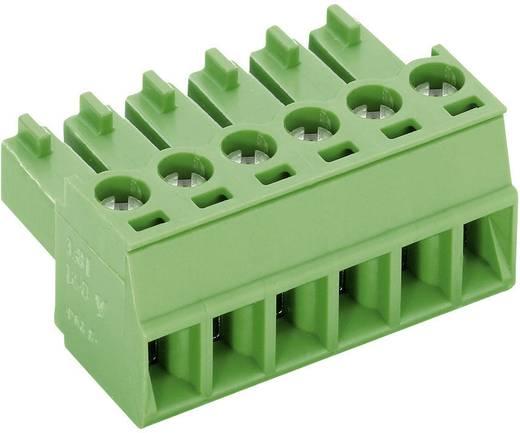 PTR csavaros sorkapocs, 5 pol., raszter 3,5 mm, zöld, AK1550/5-3.5