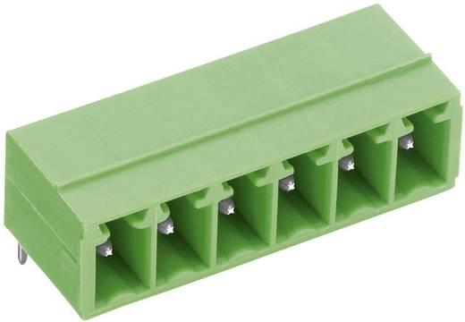 Vízszintes tűsor - STL(Z)1550-H sorozat Raszterméret: 3.5 mm Pólusszám: 6 Zöld PTR 51550065001E Tartalom: 1 db