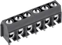 PTR AKZ500/2DS-5.08-V Csavaros kapocstömb 1.50 mm² Pólusszám 2 Szürke 1 db PTR
