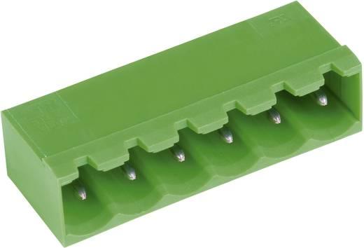Vízszintes tűsor - STL(Z)950-V sorozat Raszterméret: 5.0 mm Pólusszám: 5 Zöld PTR 50950055001E Tartalom: 1 db