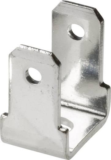 Dugaszoló csúszósaru dugó 2,8 mm/0,8 mm 90°/90° szigeteletlen, fémes Vogt Verbindungstechnik 381790.67