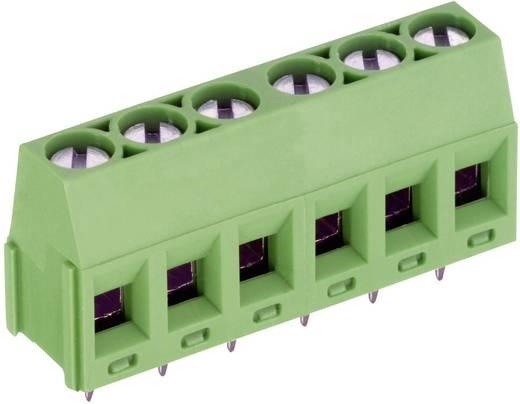 Sorkapocs nyákra sz. 3 pol.. zöld RM 5,08 mm