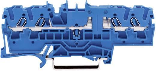 Átvezető sorkapocs, 4 vezetékes, kék, 2002-1804