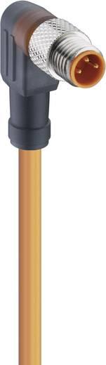 Működtető-érzékelő csatlakozóvezeték, M8 alj, hajlított Pólusszám: 3 RKMWV 3-06/5 M Lumberg Automation Tartalom: 1 db