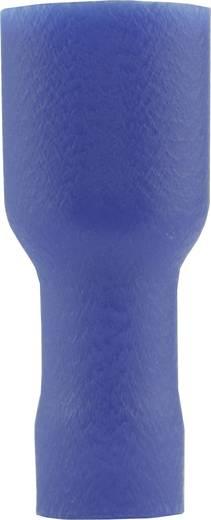 Csúszósarus hüvely 4,8x0,8 mm kék Vogt Verbindungstechnik 396208S