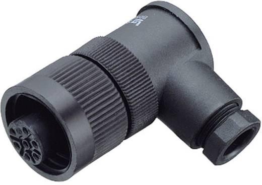 Standard kerek dugaszolható csatlakozó, pólusszám: 6 + PE, Binder 99-4226-70-07