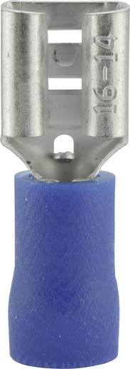 Csúszósarus hüvely 6.3X0.8mm kék
