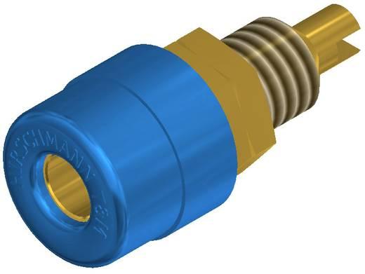 Banánhüvely beépíthető kék BIL 20 AU 4 mm