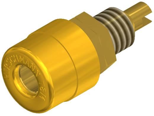 Banánhüvely beépíthető sárga BIL 20 AU 4 mm