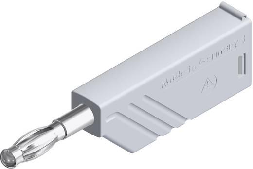 SKS Hirschmann lamellás banándugó, Ø 4 mm, 24 A, fehér, 934100107