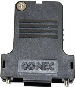 D-SUB doboz pólusszám: 37 műanyag 45 ° Fekete Conec 165X13449XE 1 db Conec