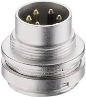 DIN beépíthető dugó, 5 pólusú, elülső oldali szerelés, SFV 50/6 (SFV 50/6) Lumberg