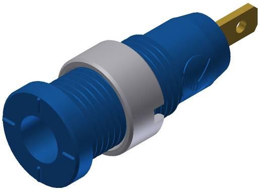 Biztonsági hüvely kék MSEB 2610 2 mm